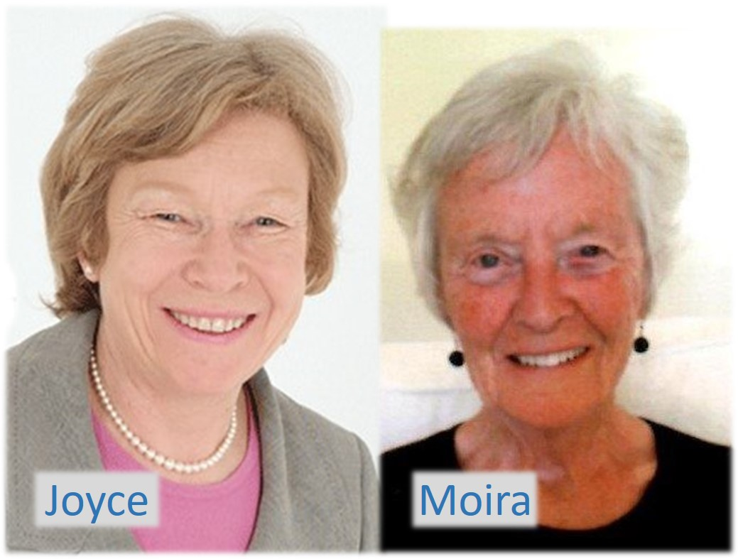 Joyce & Moira