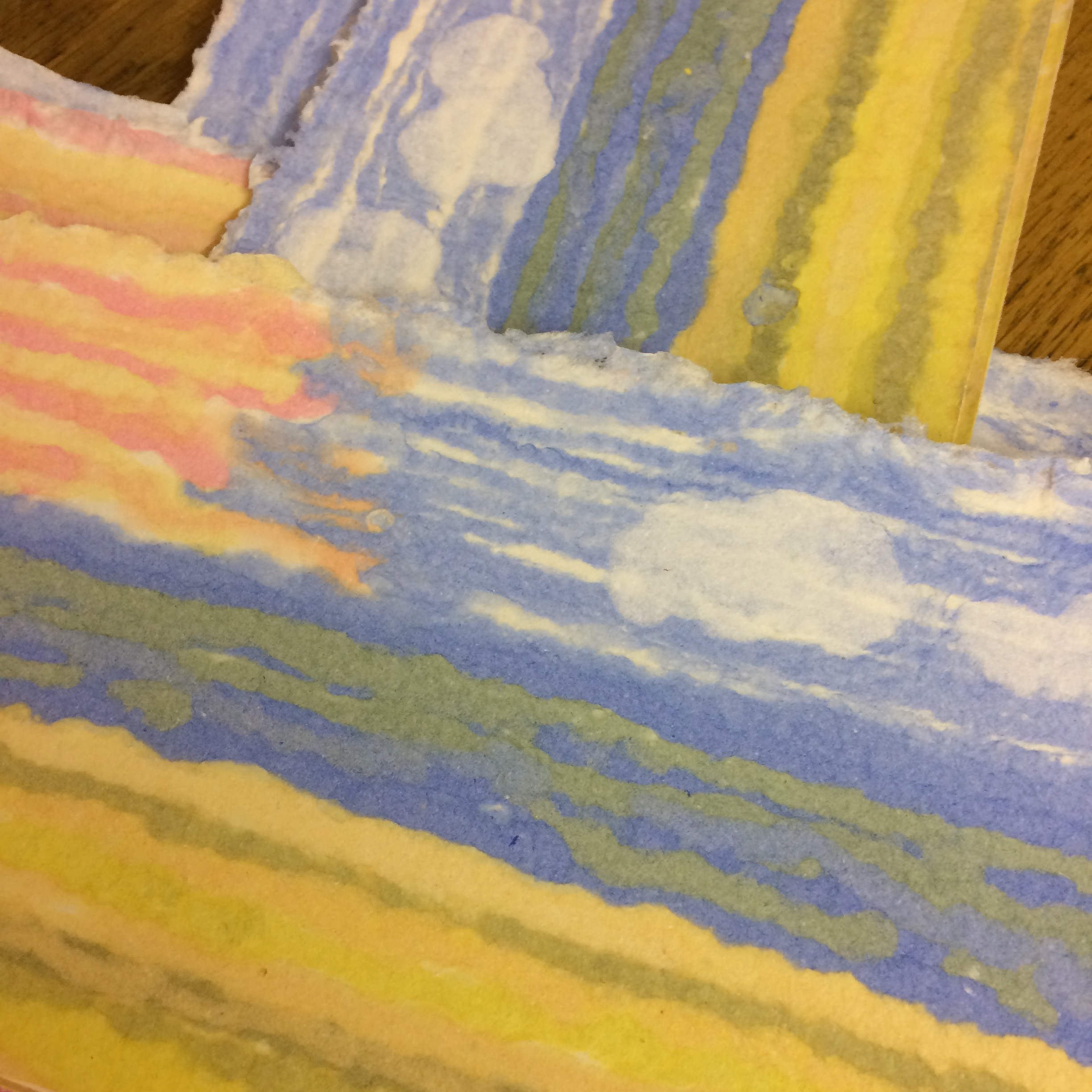 Tidekettle paper making photo 2