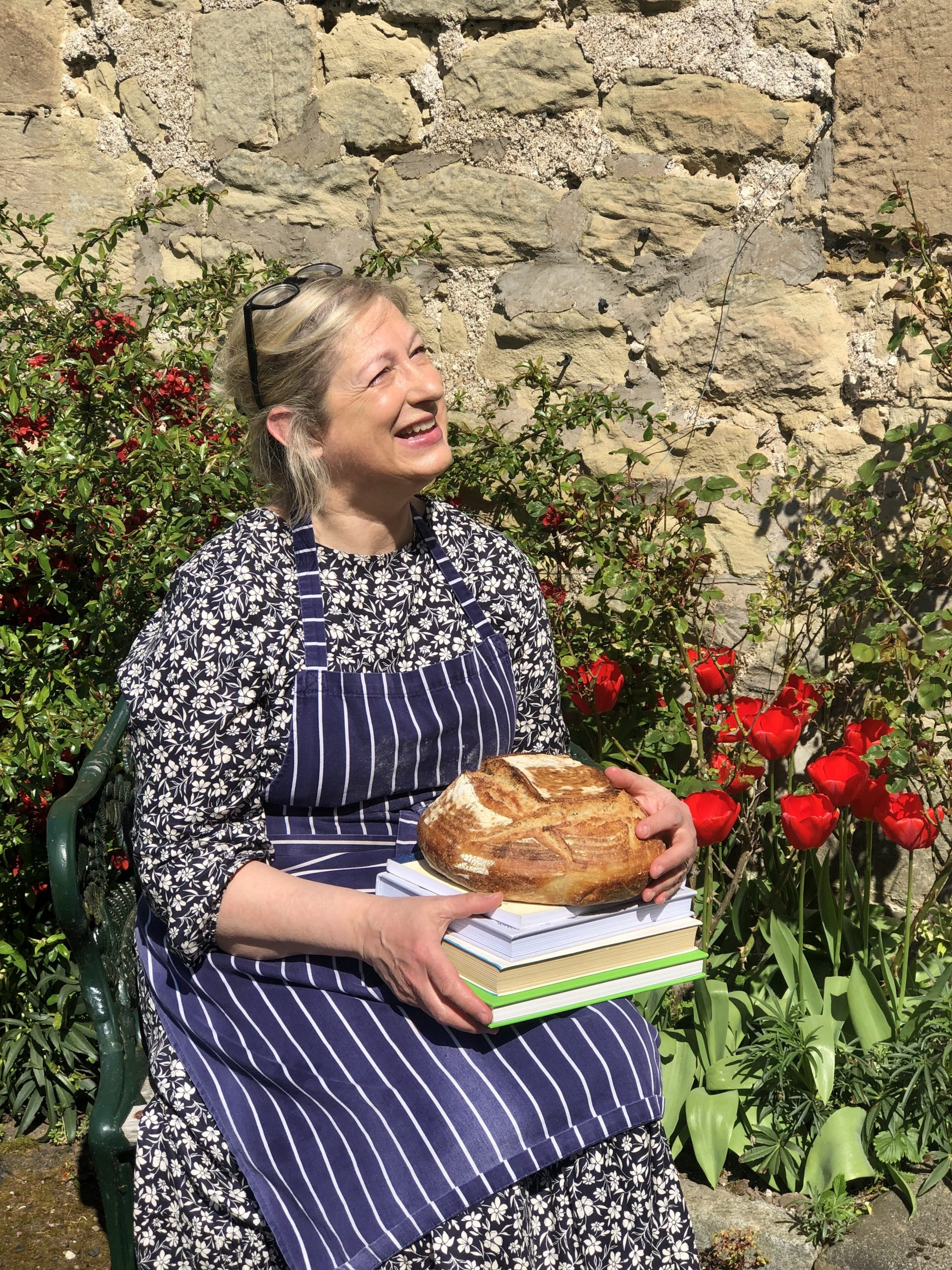 Pauline Beaumont will be speaking about her book: Bread Therapy: The Mindful Art of Baking Bread at Berwick Literary Festival 2020