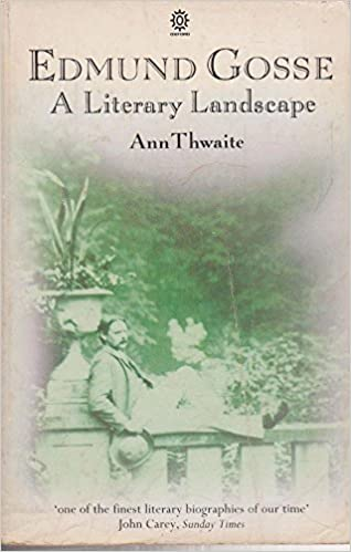 Thwaite's biography of Edmund Gosse took nine years to complete from signing of contract to publication .