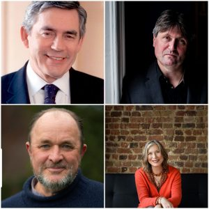 Gordon Brown, William Dalrymple, Salley Vickers and Simon Armitage will be celebrating words - written, spoken, performed - at our Northumberland book festival in Berwick-upon-Tweed